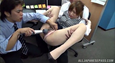 Office, Threesome asian