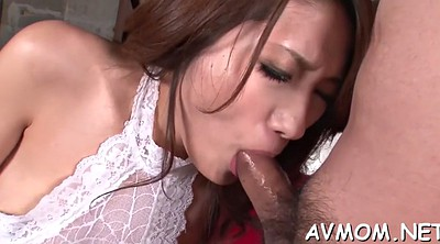 Japanese mature, Asian milf, Cream, Japanese blowjob, Blindfold, Mature japanese