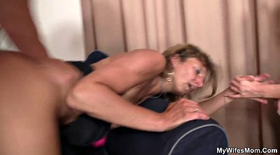 Fuck mom, Hubby, Fuck from behind