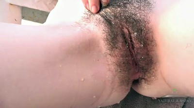 Outdoor, Open pussy