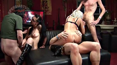 German milf, Texas patti, Texas, Gangbang creampie