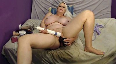 Huge dildo, Milf riding dildo