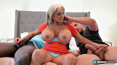 Interracial, Milf big tits, Milf riding, Black tits