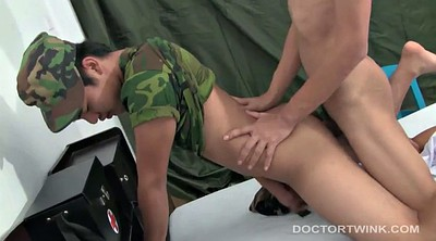 Gay doctor, Gagged, Leather, Young asian, Asian boots