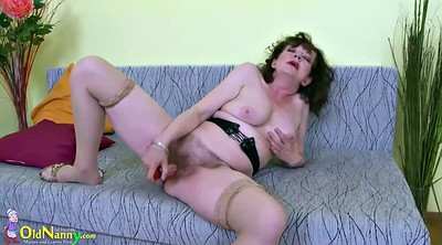 Hairy pussy, Hairy granny, Mature solo, Mature pussy