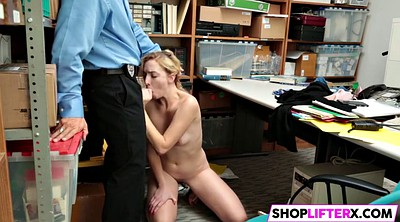 Police, Zoe, Parker, Office blowjob