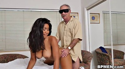 Ebony, Nurse, Old men, Ebony granny, Jenna, Gay old