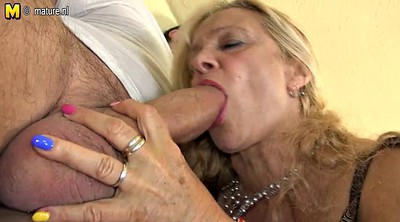 Young old, Old milf, Granny and young, German mature