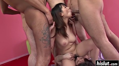 Gangbang creampie, Hairy creampie, Creampied