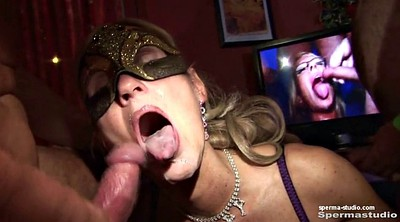 Group, German milf, German creampie