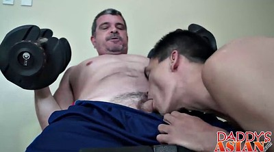 Asian young, Asian dad, Workout, Dad gay, Asian daddy