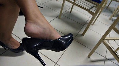 Leg, High, Shoeplay, Brazilian foot, High-heeled, Tatoo