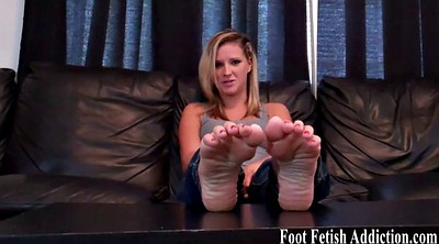 Femdom, Toes, Suck toes