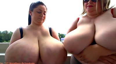 Bbw big, Huge natural tits