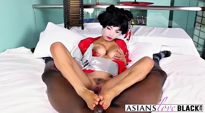 Footjob, Asian feet, Geisha, Black asian, Asian footjob, Asian interracial