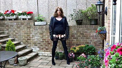 Nylon, Boots, New, Thigh boots, Thigh, Boot