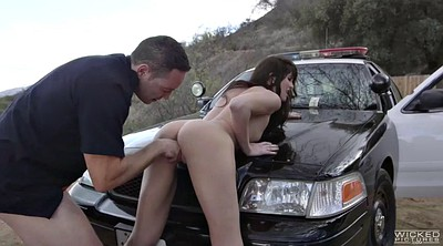 Police, Hot office, Office fuck, Upskirts, Road, Fuck police