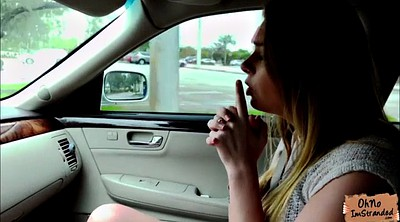 Carly g, Blake, Outdoor teen, Car blowjob