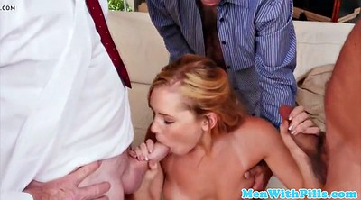 Blowbang, Old young gay, Facial amateur