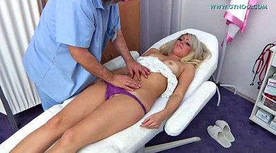Doctor, Exam, Hot blond