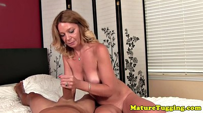 Bigtits, Mature handjob, Pov mature, Mature couple