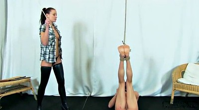 Slave, Femdom whipping, Whipping