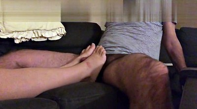 Feet, Cum on feet, Wife feet, Feet cum