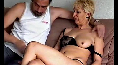 German mom, Mom anal
