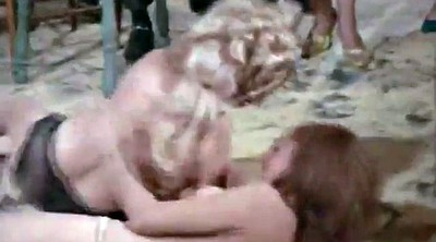 Fight, Catfight, Fighting, Cat fight, Mud, Cat