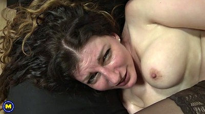 White milf, Young hard, Old mom, Mom sex