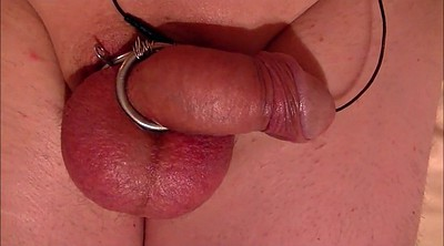 Electro, Device, Trafficked, Milking cock, Big cum