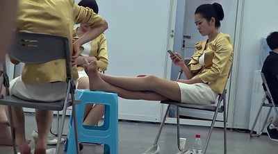 Nylon foot, Asian foot, Nylon feet, Asian feet, Asian foot fetish