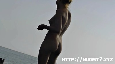 Beach, Nudist beach, Camera
