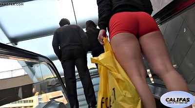 Candid, Short, Butt