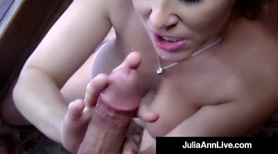 Julia ann, Anne, Cock in mouth