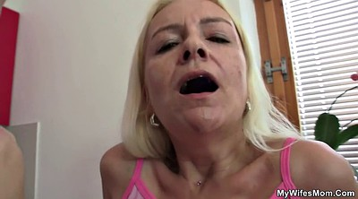Hardcore, Mature blonde, Blonde granny
