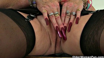 Claire, Uk mature, Granny's, Granny squirt