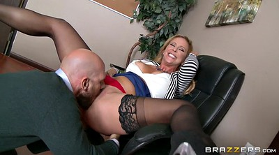 Boss, Johnny sins, Cherie deville, Job, Panty job, Milf office