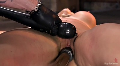 Tit torture, Tortured, Pussy bdsm, Big toys, Angel allwood
