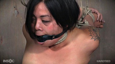 Asian bdsm, Short hair, Tie, Tied asian, Asian tied, Humiliated