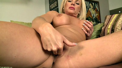 Mature orgasm, Blonde mature