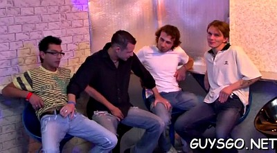 Gay orgy, Anal party