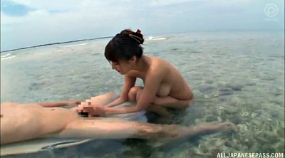 Japanese beach, Japanese handjob, Japanese tits, Japanese sexy, Outdoor blowjob, Deliver