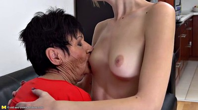 Taboo, Granny lesbian, Old granny, Old mature