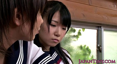 Japanese schoolgirl, Threesome asian, Small japanese, Facials