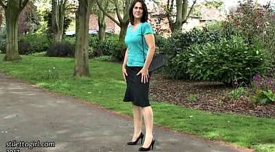 Walking, Mature feet, Park, Solo feet, Mature outdoor, Walk