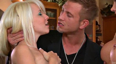 Super, Long cock, Super big tits, Blonde cumshot, Hot blond