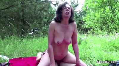 Grandma, Boys, Granny hairy, German granny, Hairy amateur, Hairy young