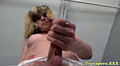 Trans, Shemale cumshots, Shemale cum, Jerk