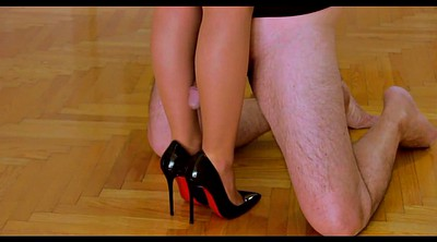 Nylon, Nylon feet, Nylon foot, Leg, Cums nylon, Humping
